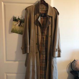 Burberry Tan Trenchcoat